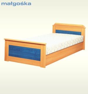 Małgośka L łóżko 209 Black Red White Meble I Dodatki Do